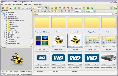 FastStone Image Viewer 4.0 screenshot
