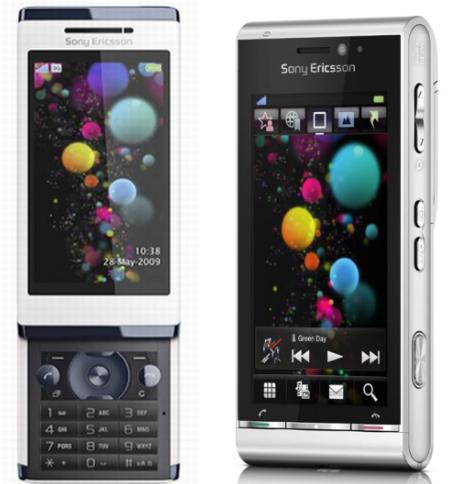 Sony Ericsson Aino en Satio