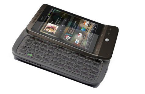 Photoshop-job: HTC Hero met toetsenbord Touch Pro2