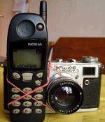 Mobiele telefoon met camera
