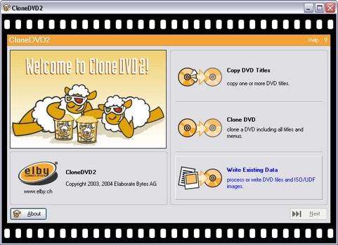 CloneDVD screenshot (481 pix)