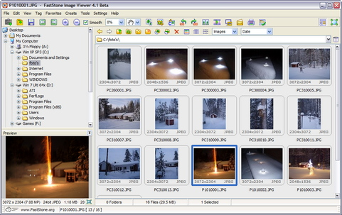 FastStone Image Viewer 4.1 bèta screenshot