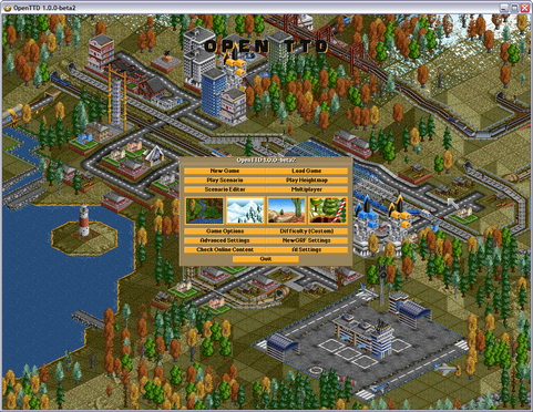 OpenTTD 1.0.0 bèta 2 screenshot (481 pix)