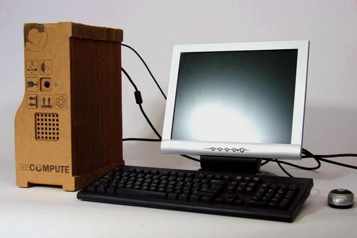 Goedkope Pc Kast : Recompute bouwt pc met kartonnen behuizing computer nieuws