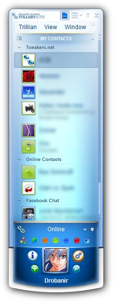 Trillian Astra 4.1 screenshot
