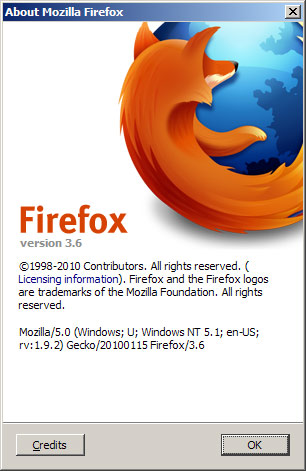 Firefox 3.6