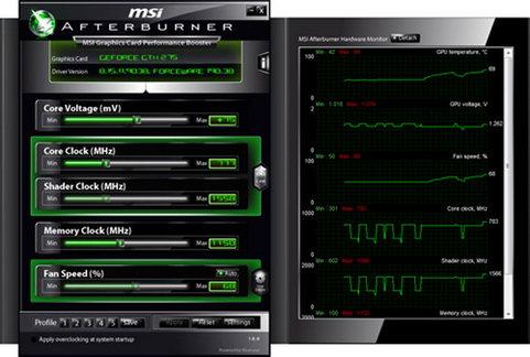 MSI Afterburner screenshot (481 pix)
