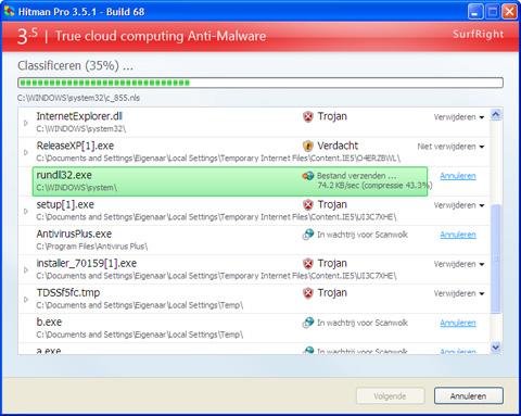 Hitman Pro 3.5 screenshot (481 pix)
