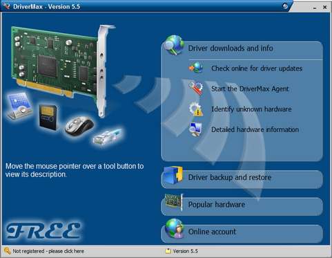 DriverMax screenshot 5.5 (481 pix)