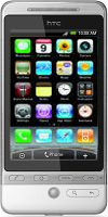 HTC Hero met iPhone-interface