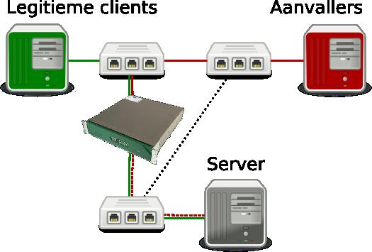 Test network RioRey RX1810
