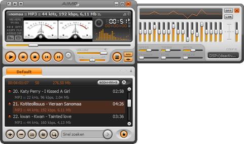 AIMP screenshot (481 pix)