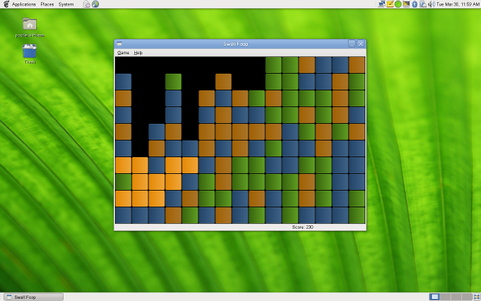 Gnome 2.30 screenshot (481 pix)