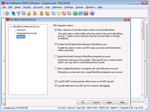 MDaemon 11.0.0 screenshot