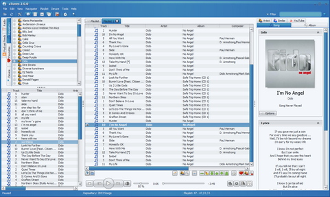 aTunes 2.0.0 screenshot