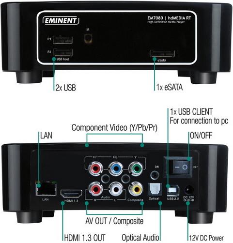 Eminent EM7080 - front & back