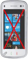 Nokia N97 zonder Windows Phone