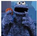 Koekiemonster, niet cookiemonitor