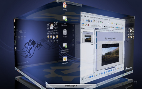 Mandriva Linux 2010 screenshot (481 pix)