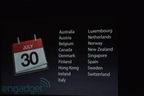 Apple iPhone 4 op 30 juli in Nederland