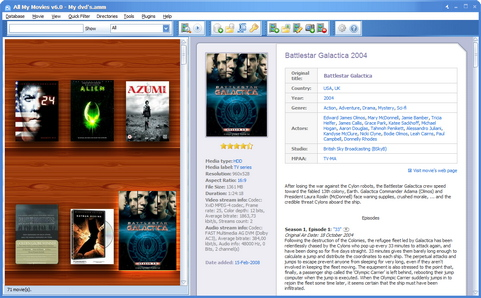 All My Movies 6.0 screenshot (481 pix)