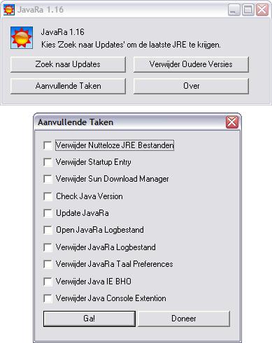 JavaRa 1.14 screenshot