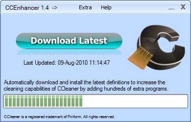 CCEnhancer 1.4 screenshot