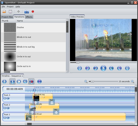 OpenShot Video Editor screenshot