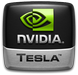 nVidia Tesla badge (75 pix)