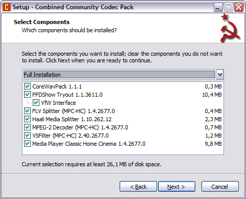 Combined Community Codec Pack 10.10.2010