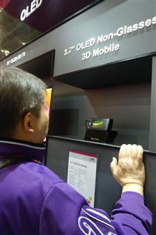 FPD International: kleine oled-schermen met 3d getoond (Bron: Digitimes)
