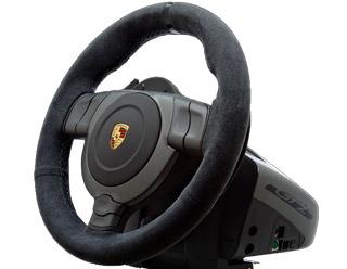 fanatec porsche 911 gt2 wheel eu zwart pc playstation 3 xbox 360 prijz. Black Bedroom Furniture Sets. Home Design Ideas