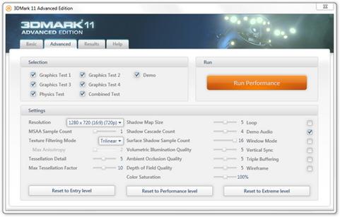 Futuremark 3DMark 11 screenshot (481 pix)