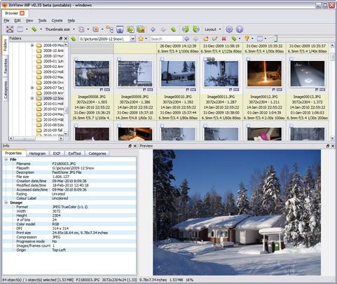 XnViewMP 0.35 bèta screenshot (481 pix)
