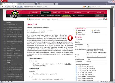 Opera 11.01 screenshot (481 pix)