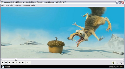 Media Player Classic - Home Cinema 1.5.0.2827 screenshot (481 pix)
