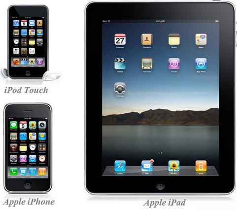 iPad, iPhone en iPod touch (481 pix)