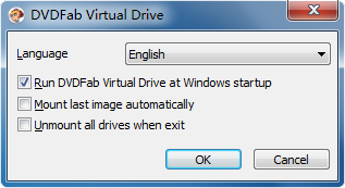 DVDFab Virtual Drive screenshot