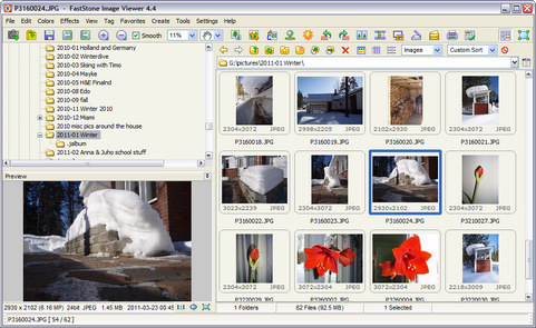 FastStone Image Viewer 4.4 screenshot (481 pix)