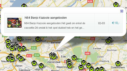 V&A Google Maps implementatie