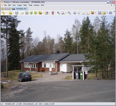 XnView 1.98 bèta 4 screenshot (481 pix)
