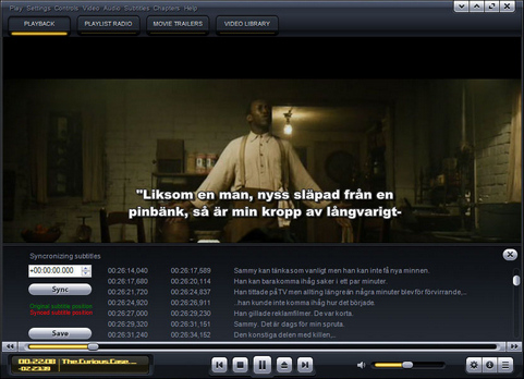 Kantaris Media Player screenshot (481 pix)