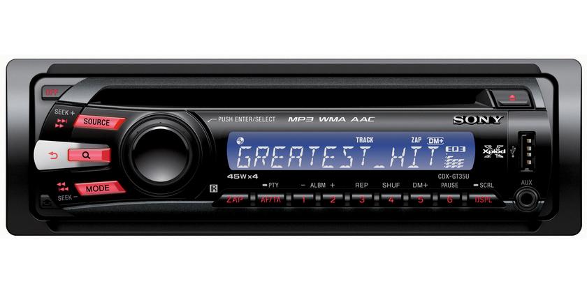 Sony xplod 52wx4 car stereo manual 1