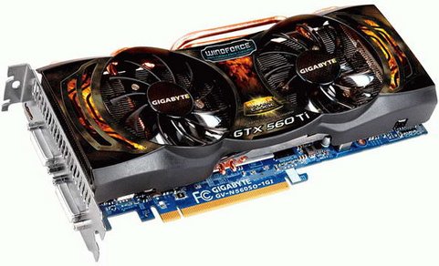 Gigabyte GeForce GTX-560-Ti