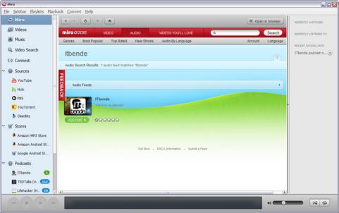 Miro 4.0 screenshot