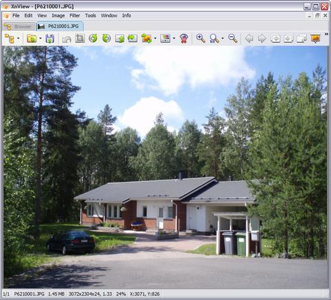 XnView 1.98.1 screenshot (481 pix)