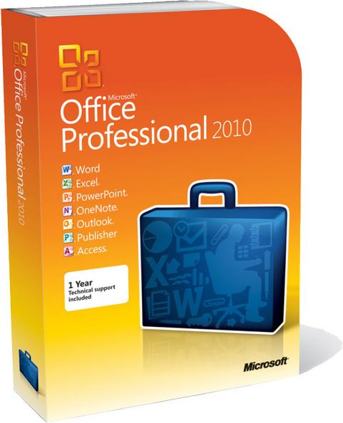 Microsoft Office 2010 - boxshot