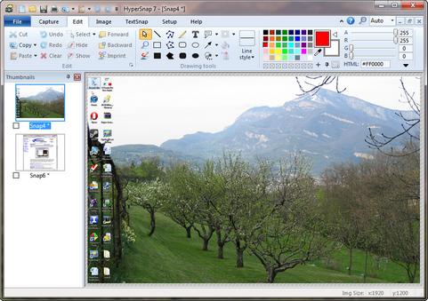 HyperSnap-DX 7 screenshot