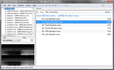 foobar2000 screenshot (481 pix)