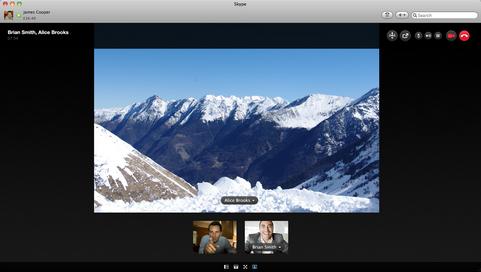 Skype for Mac screenshot (481 pix)
